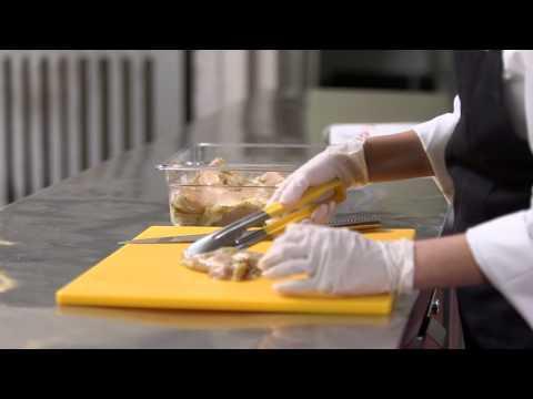 Raw Chicken Training Materials for Restaurant Operators